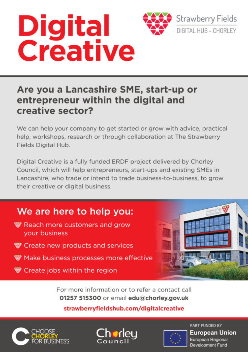 Digital Creative Business Support